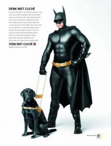 verkiezingscampagne superhelden