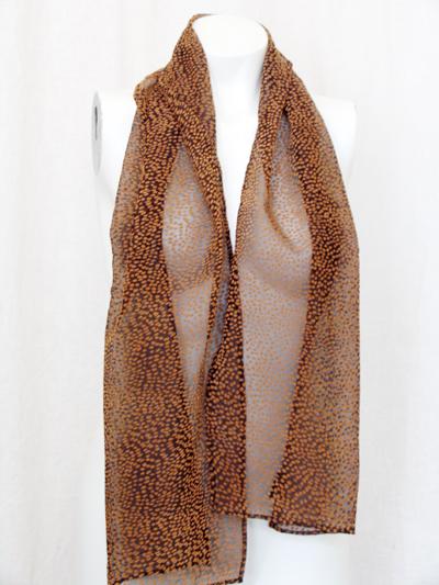sjaal vlekjes