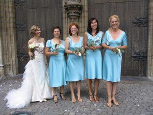 kleedjes bruidsmeisjes